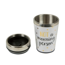 "Thermos flask 3,5 dl, ""Not a morning person"""