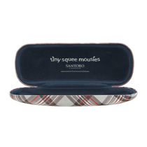 "Tiny Squee Mousies glasses case ""Little Genius"""