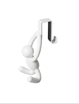 Umbra Buddy hook for the door, white, set of 2