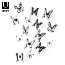 Umbra Chrysalis Wall Decor - seinäkoristeet 16kpl