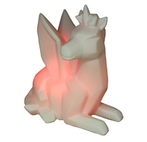 Unicorn LED lamp, changing colours