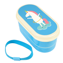 Unicorn lunch box for a child
